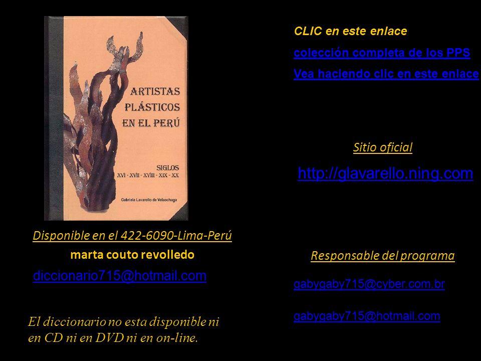 http://glavarello.ning.com Sitio oficial