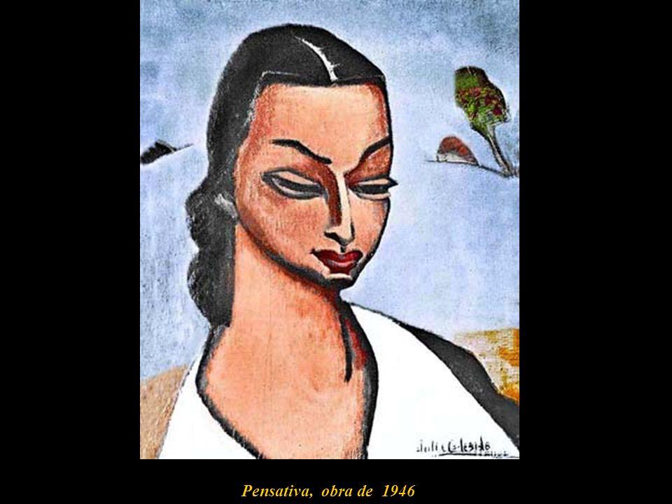 Pensativa, obra de 1946