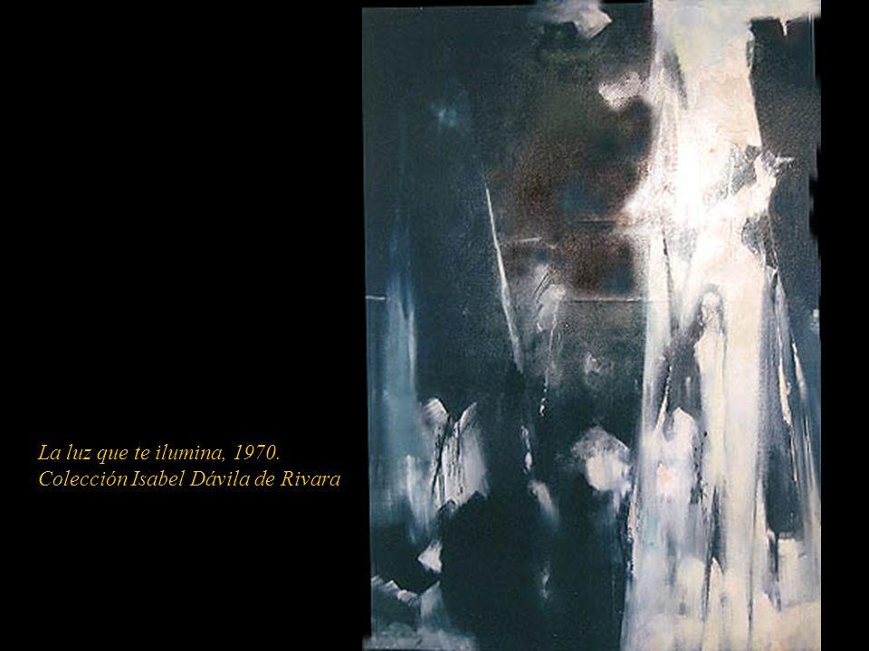 La luz que te ilumina, 1970. Colección Isabel Dávila de Rivara