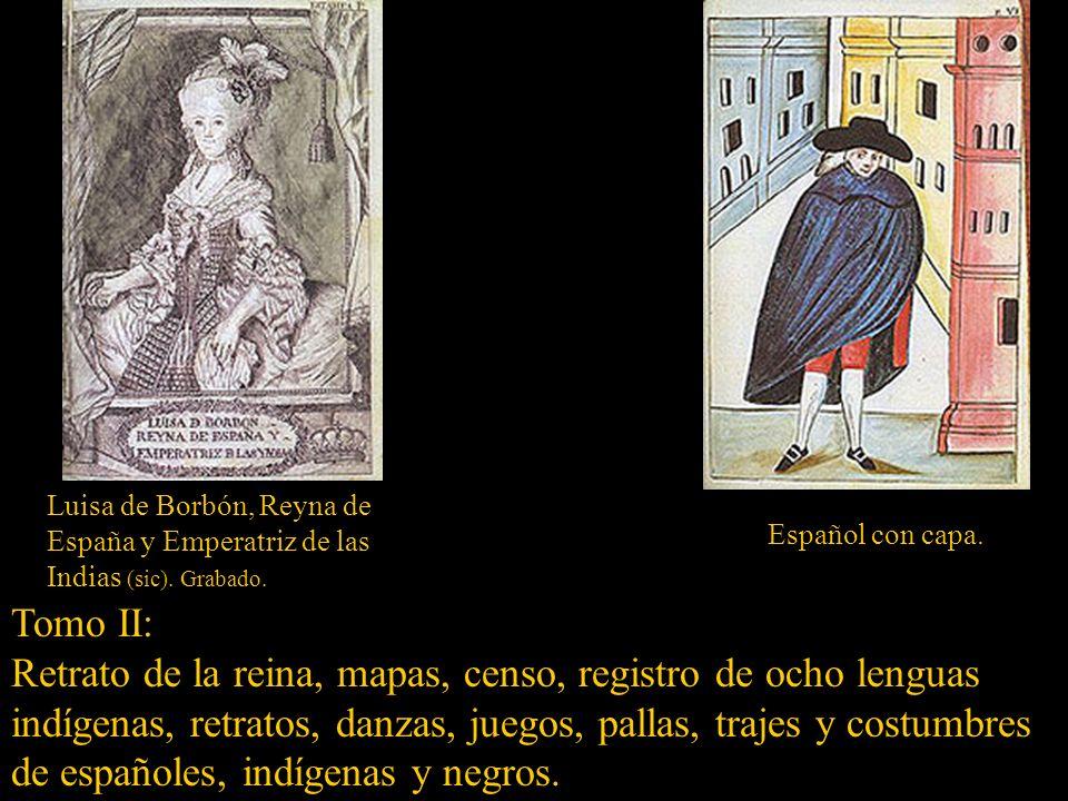 Luisa de Borbón, Reyna de España y Emperatriz de las Indias (sic)