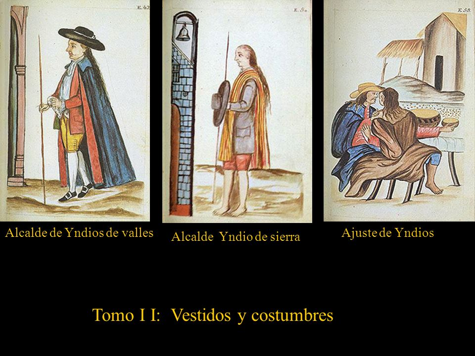 Tomo I I: Vestidos y costumbres