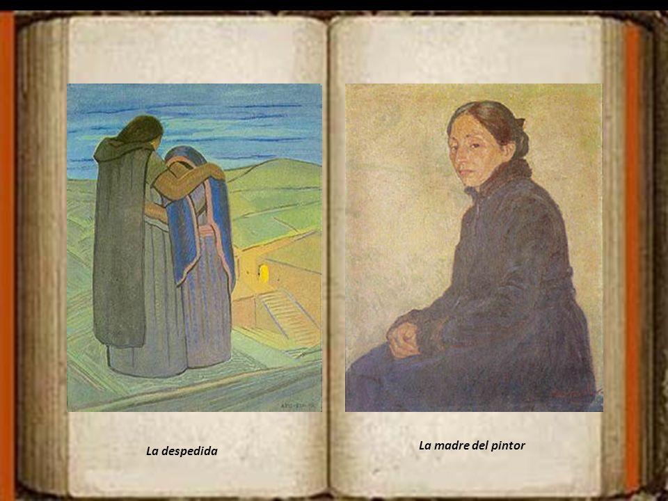 La madre del pintor La despedida