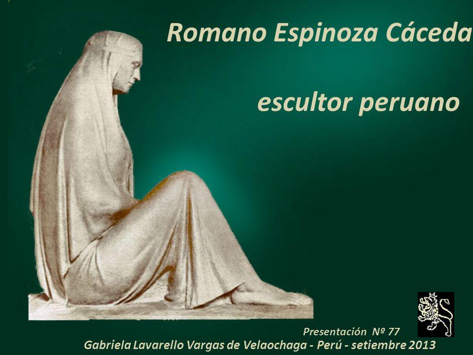 Romano Espinoza Cáceda escultor peruano