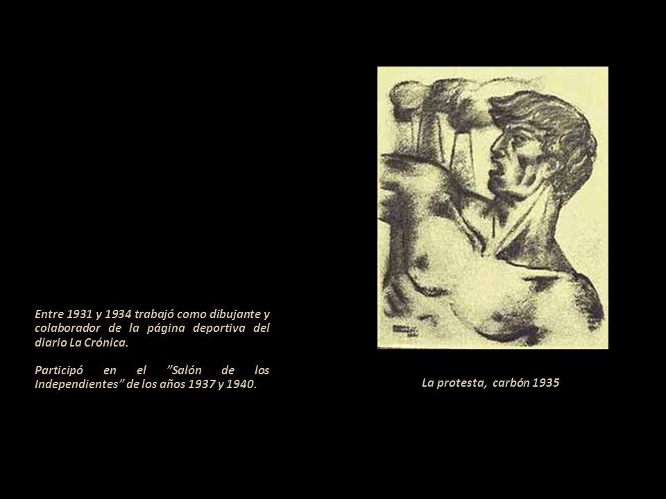 Entre 1931 y 1934 trabajó como dibujante y colaborador de la página deportiva del diario La Crónica.
