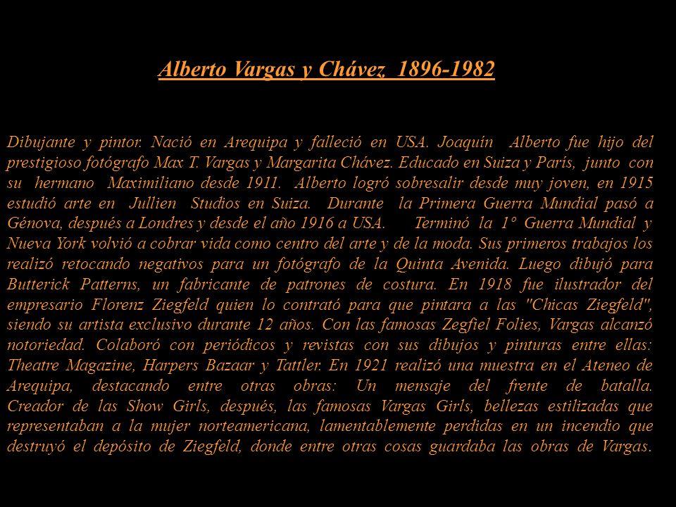 Alberto Vargas y Chávez 1896-1982