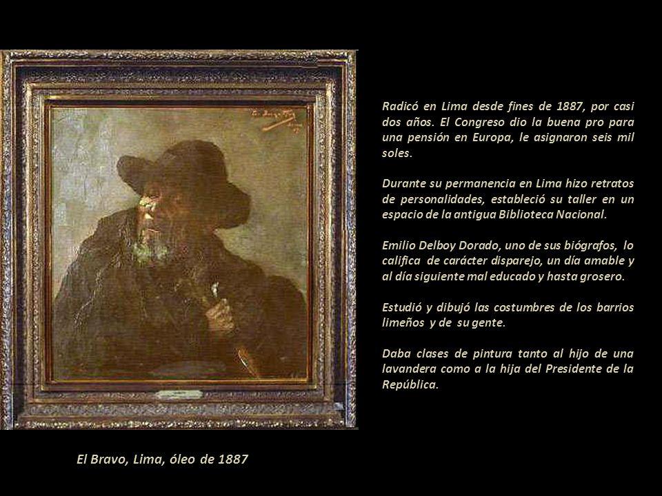 Radicó en Lima desde fines de 1887, por casi dos años