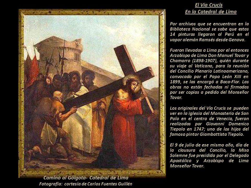 Camino al Gólgota- Catedral de Lima
