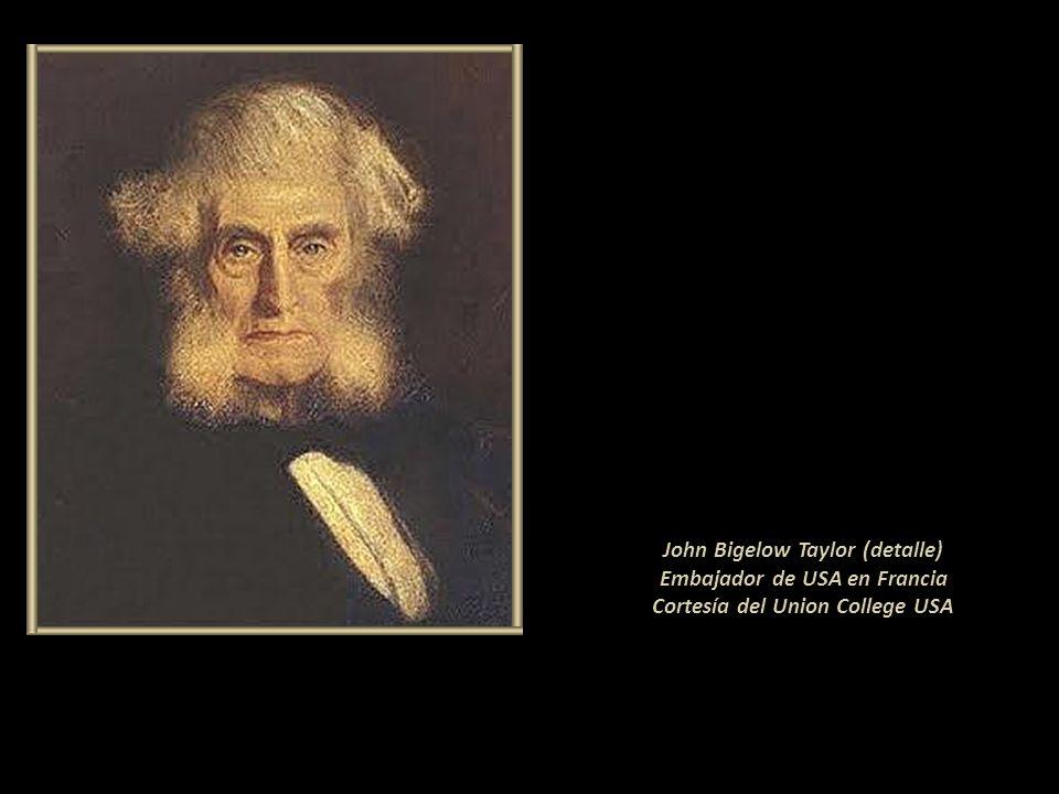 John Bigelow Taylor (detalle) Embajador de USA en Francia