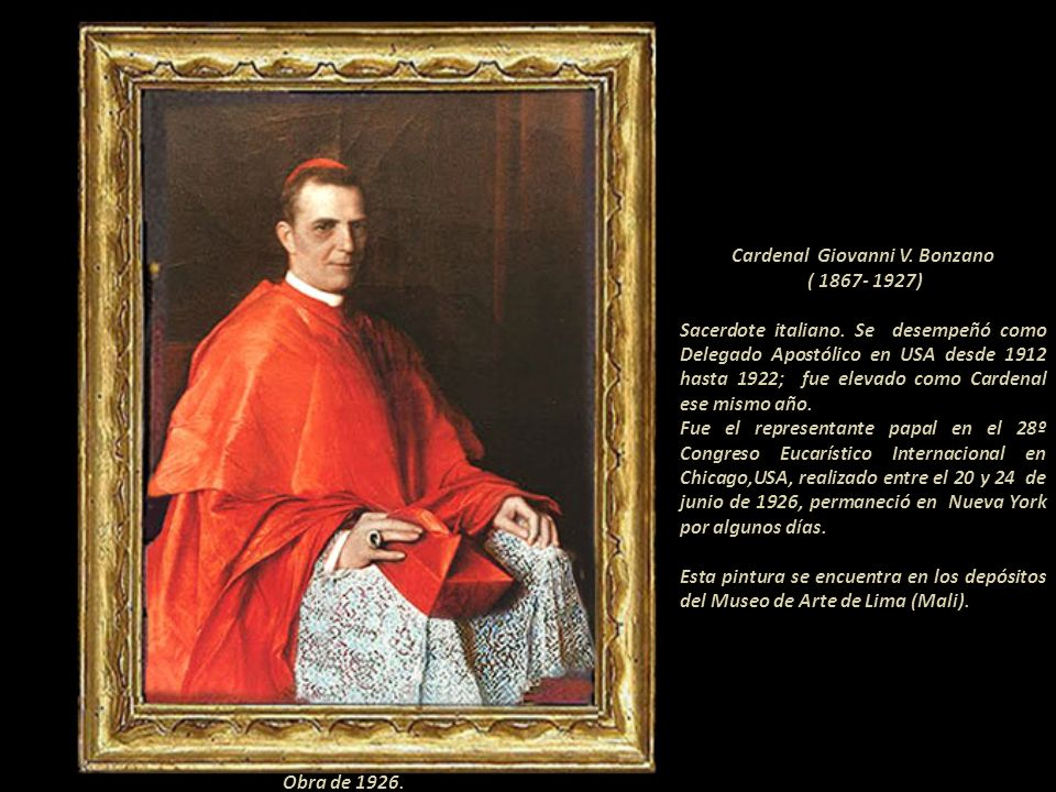 Cardenal Giovanni V. Bonzano