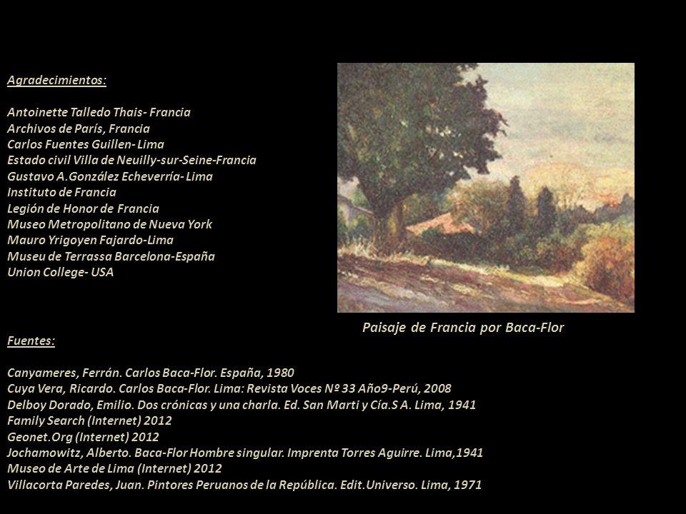 Paisaje de Francia por Baca-Flor