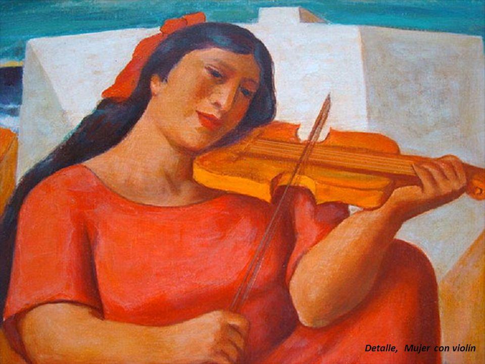 Detalle, Mujer con violín