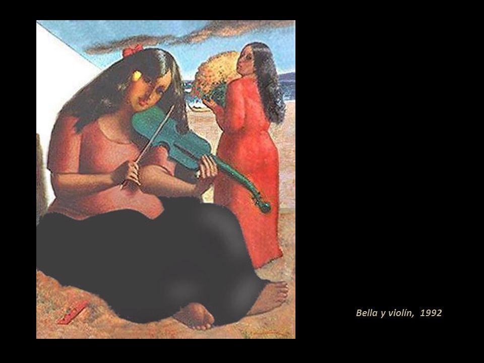 Bella y violín, 1992