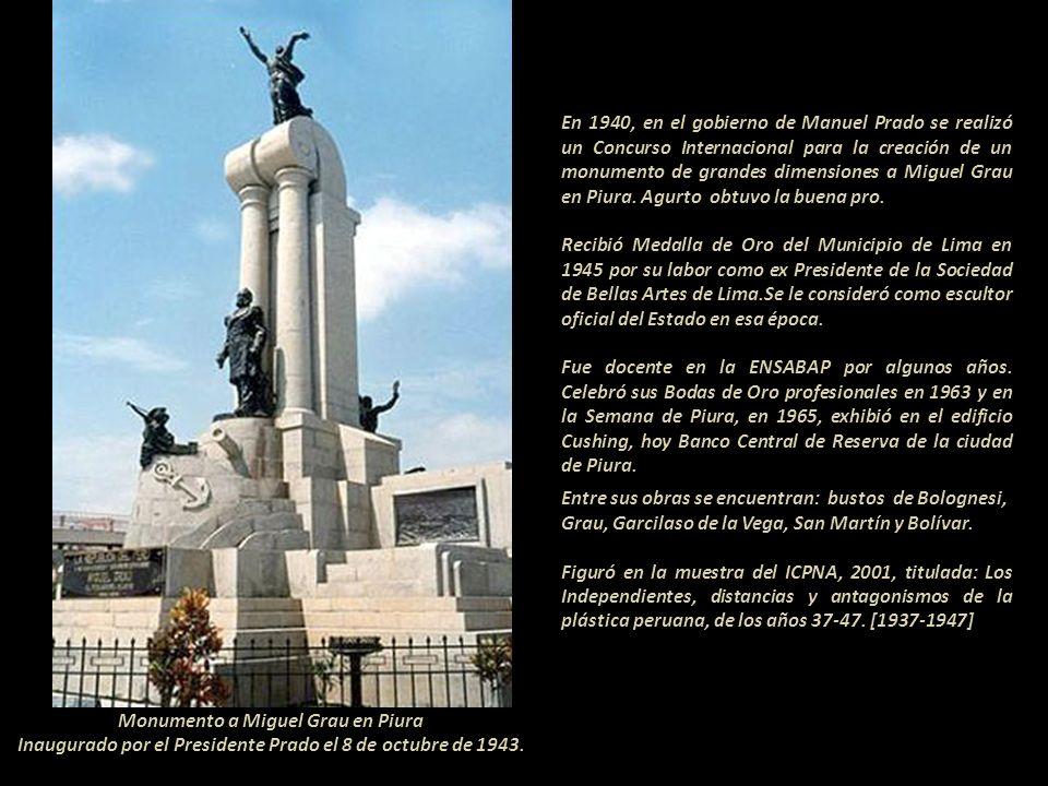 Monumento a Miguel Grau en Piura