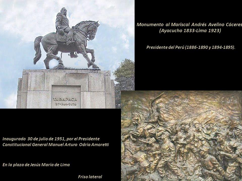 Monumento al Mariscal Andrés Avelino Cáceres