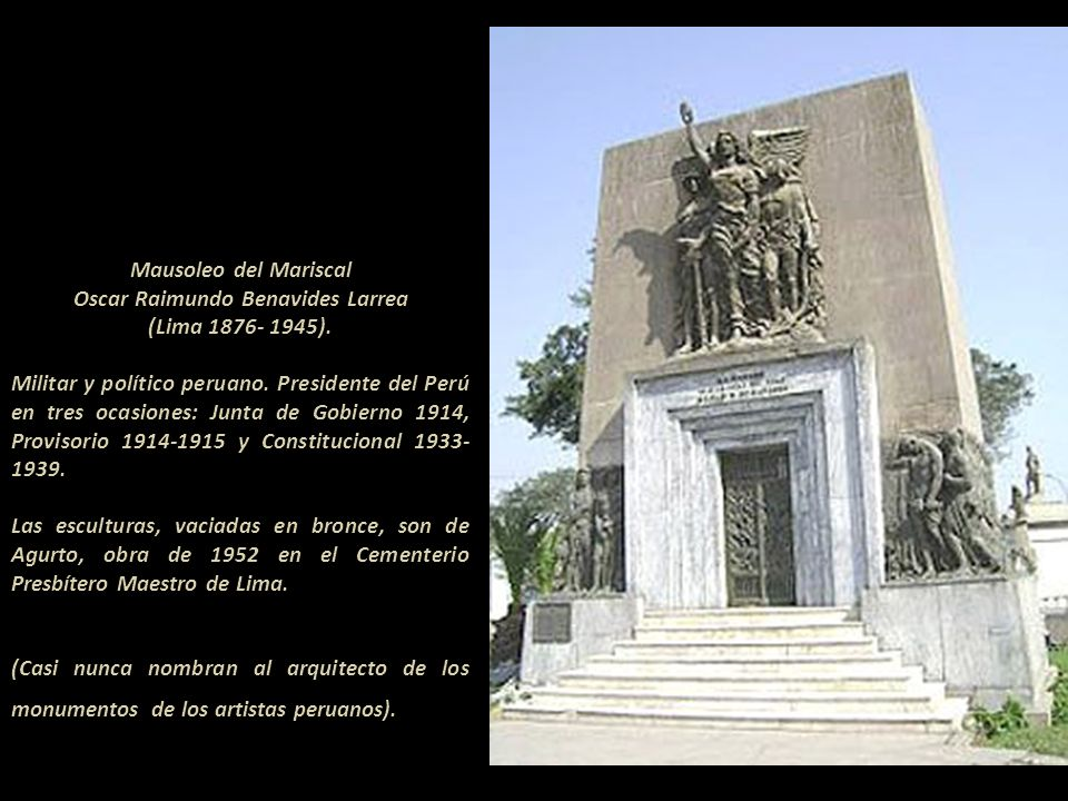 Oscar Raimundo Benavides Larrea