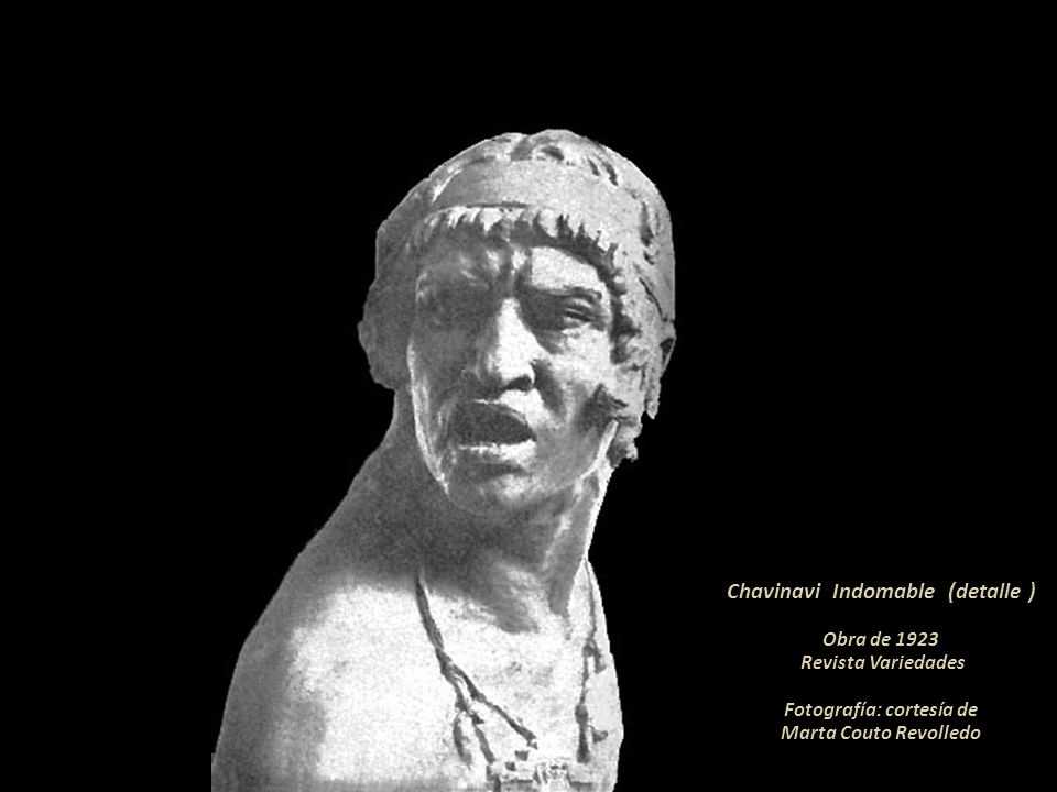 Chavinavi Indomable (detalle ) Fotografía: cortesía de
