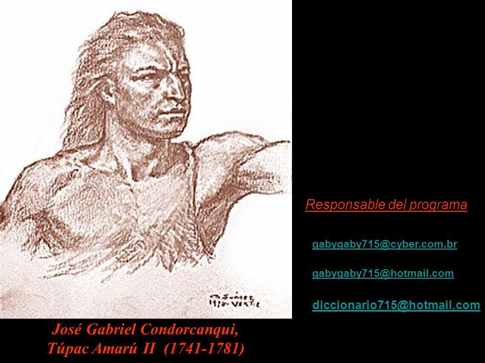 José Gabriel Condorcanqui,