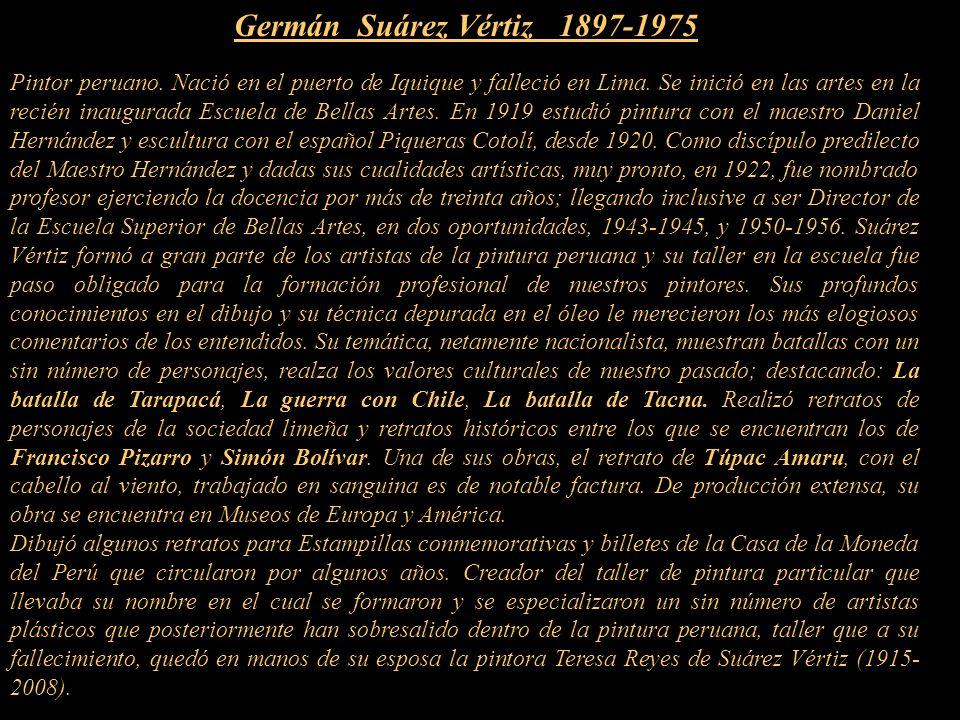 Germán Suárez Vértiz 1897-1975