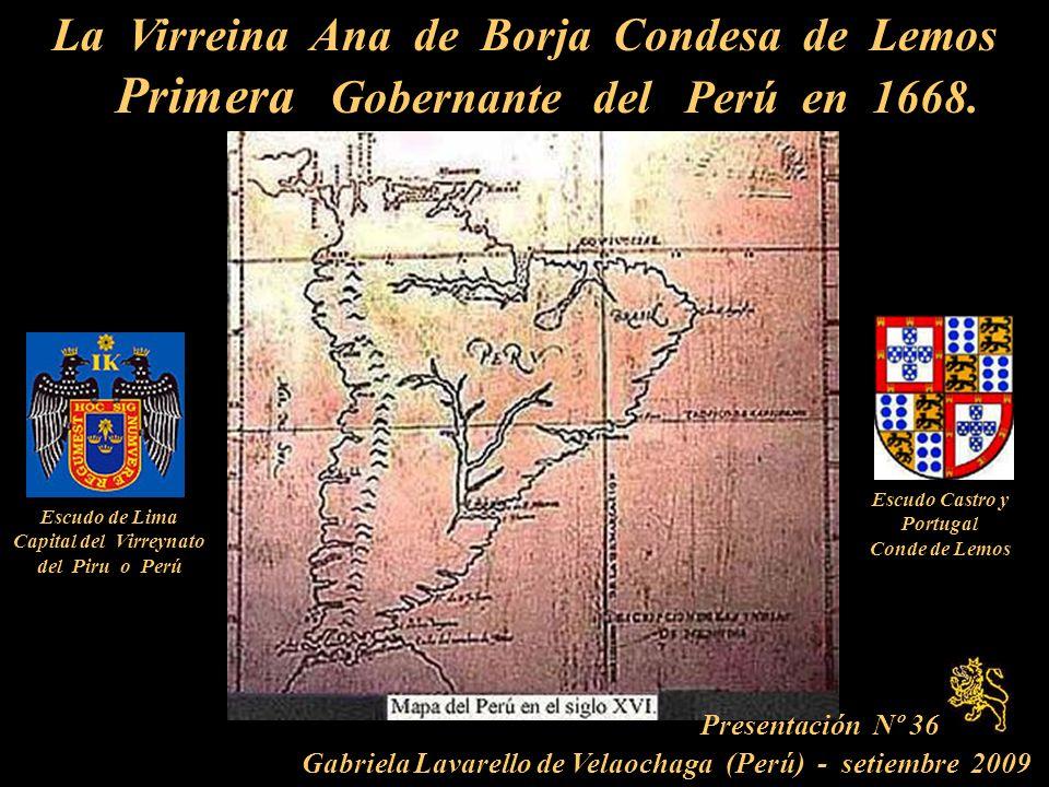 La Virreina Ana de Borja Condesa de Lemos