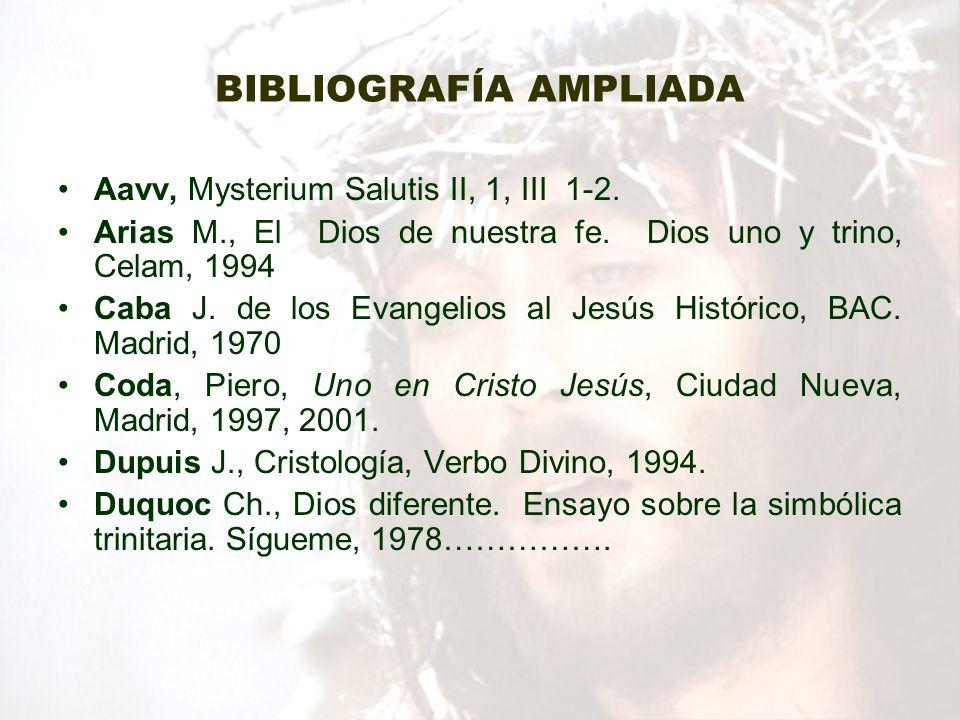 BIBLIOGRAFÍA AMPLIADA