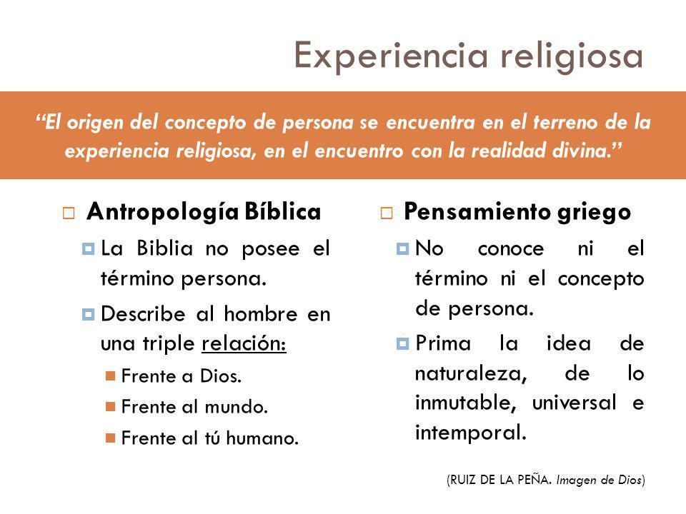 Experiencia religiosa