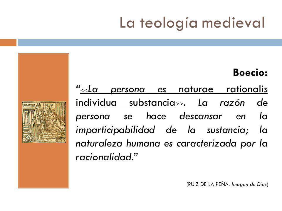 La teología medieval