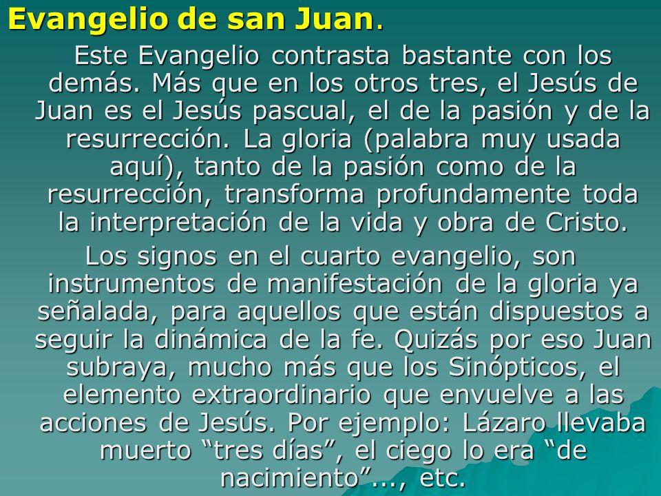 Evangelio de san Juan.