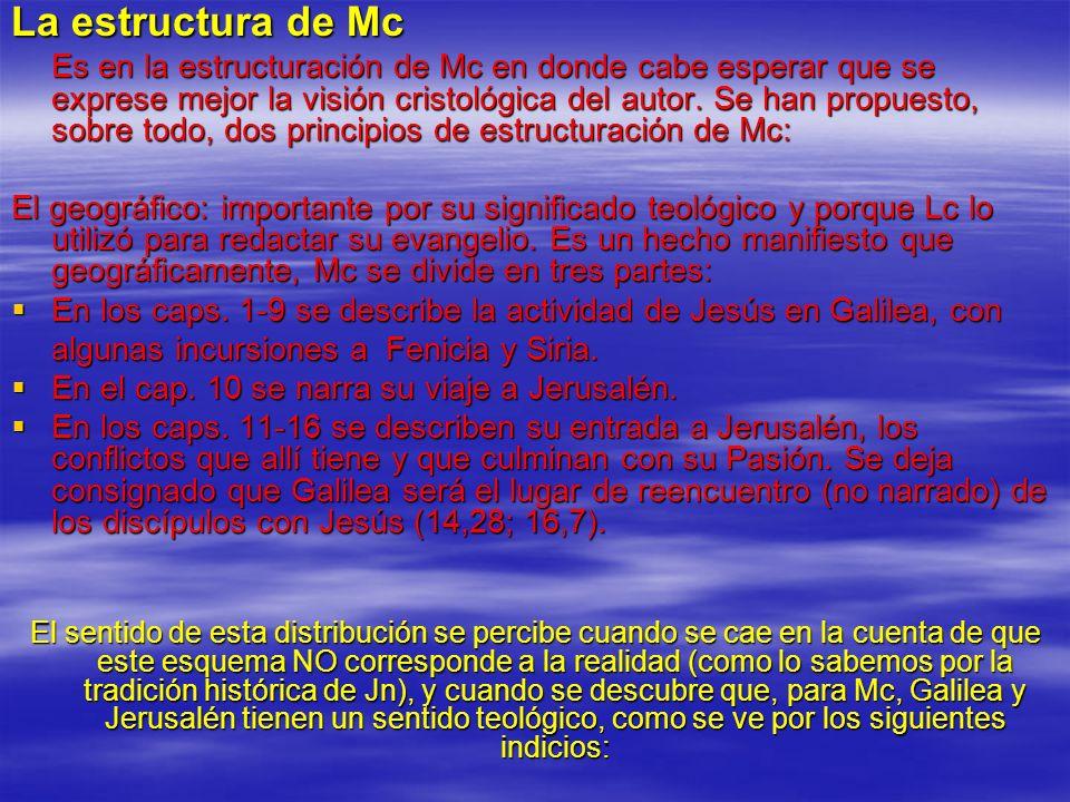 La estructura de Mc
