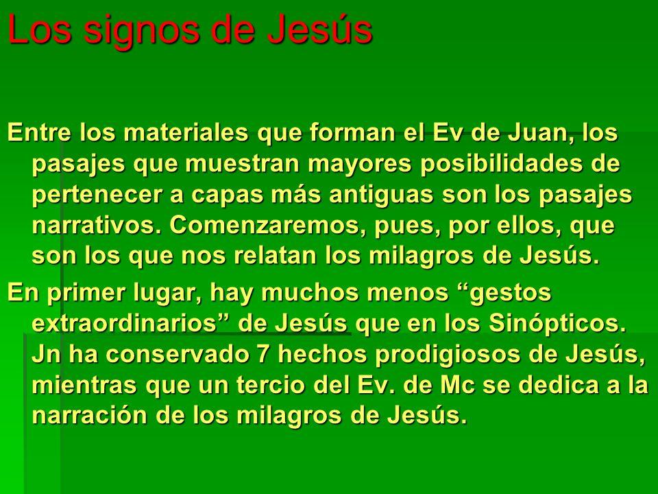 Los signos de Jesús