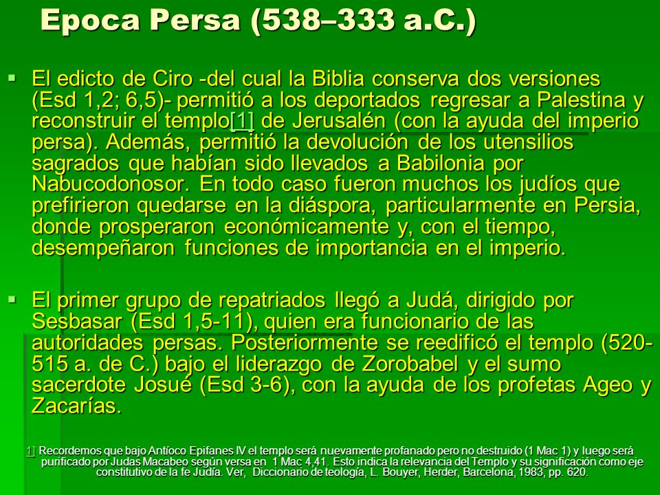 Epoca Persa (538–333 a.C.)