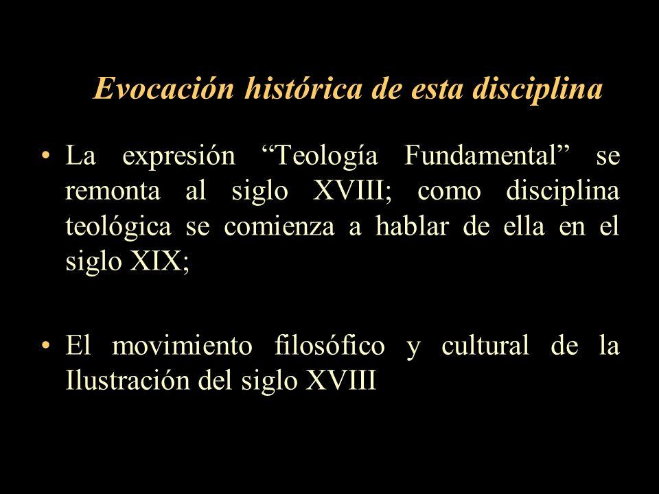Evocación histórica de esta disciplina