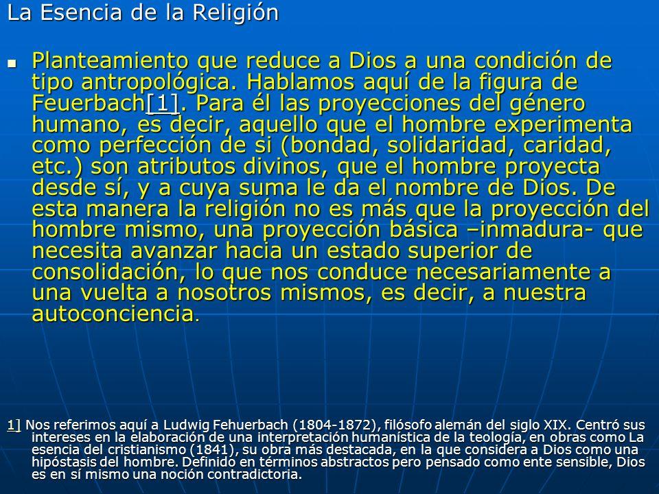 La Esencia de la Religión