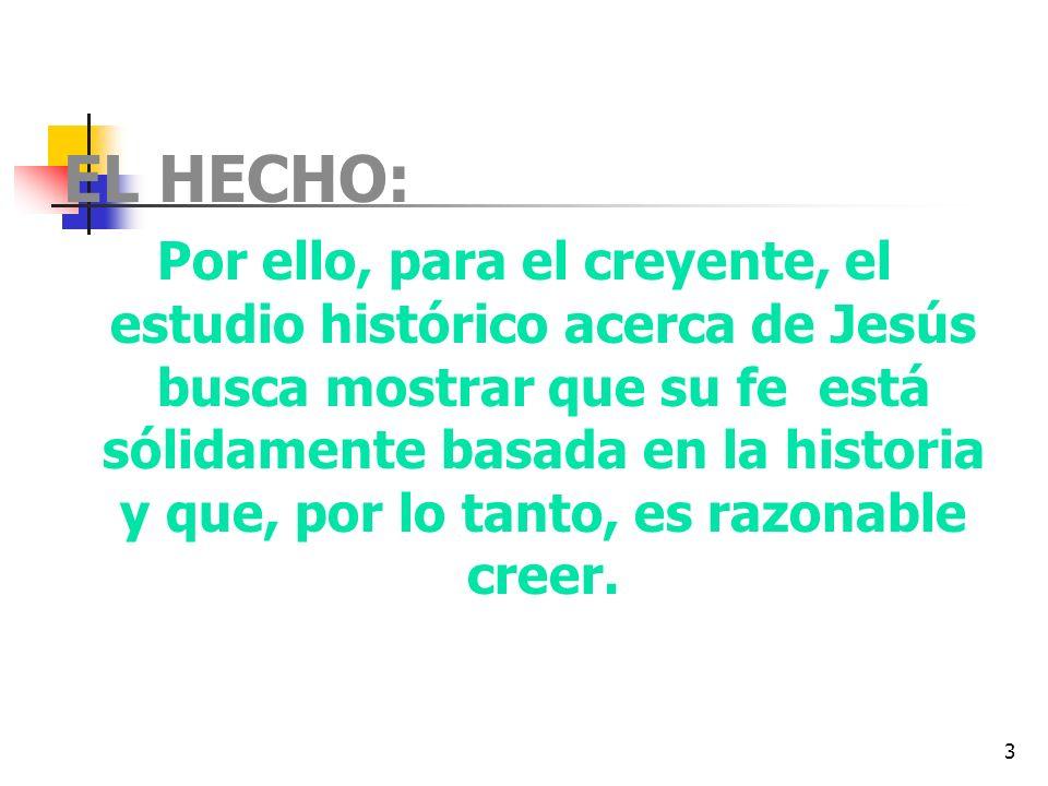 EL HECHO: