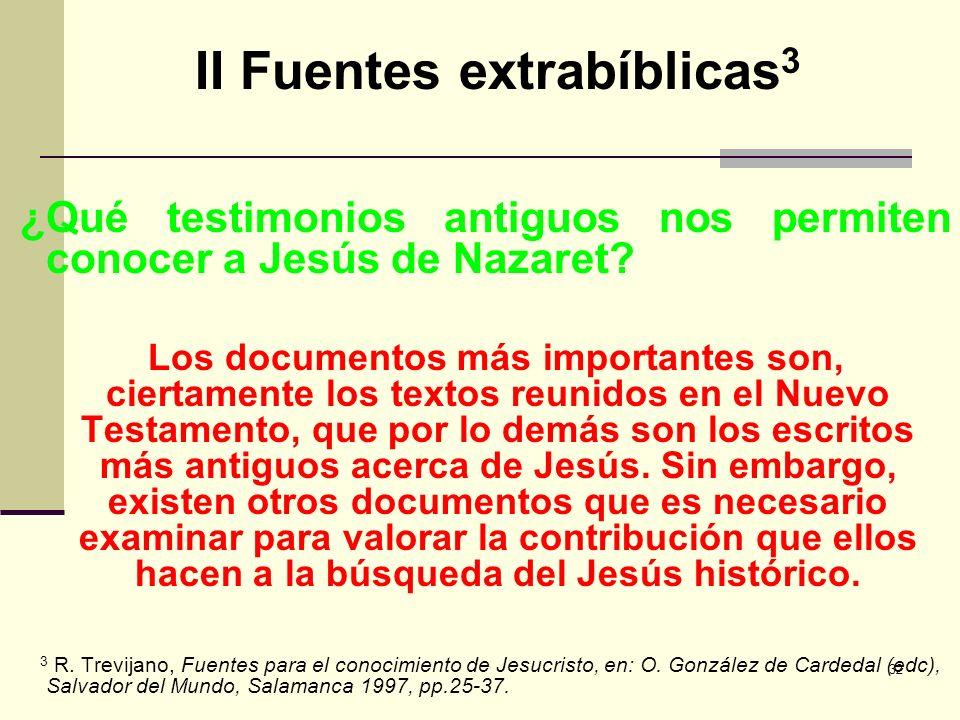 II Fuentes extrabíblicas3