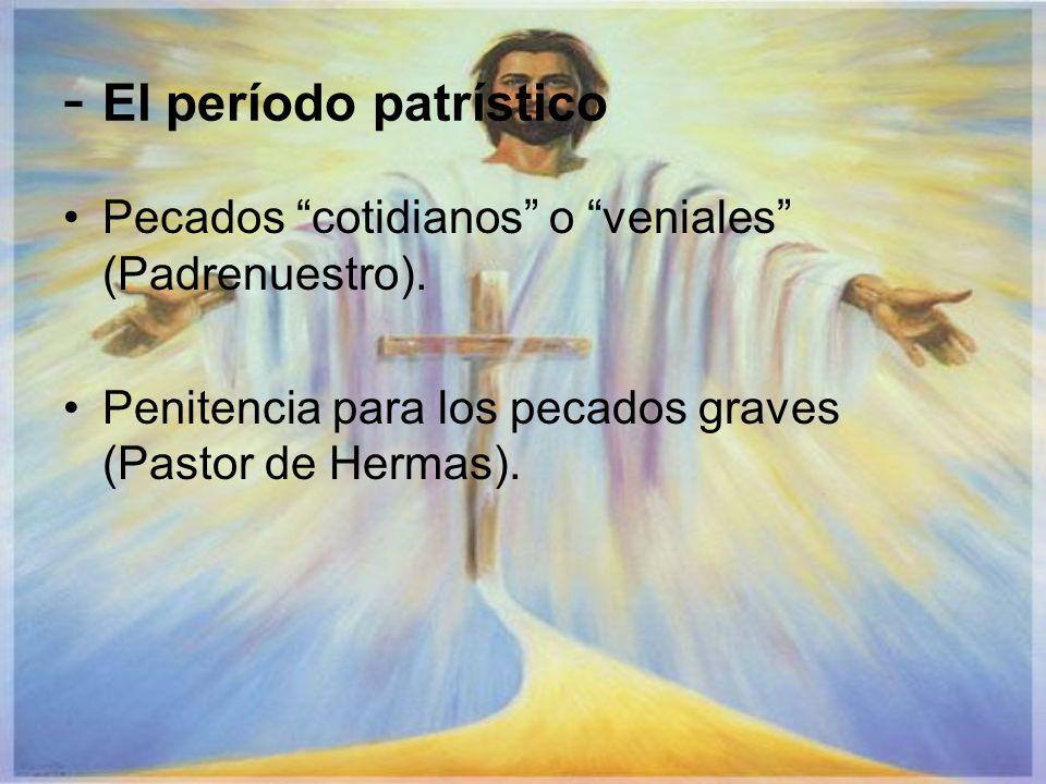 - El período patrístico