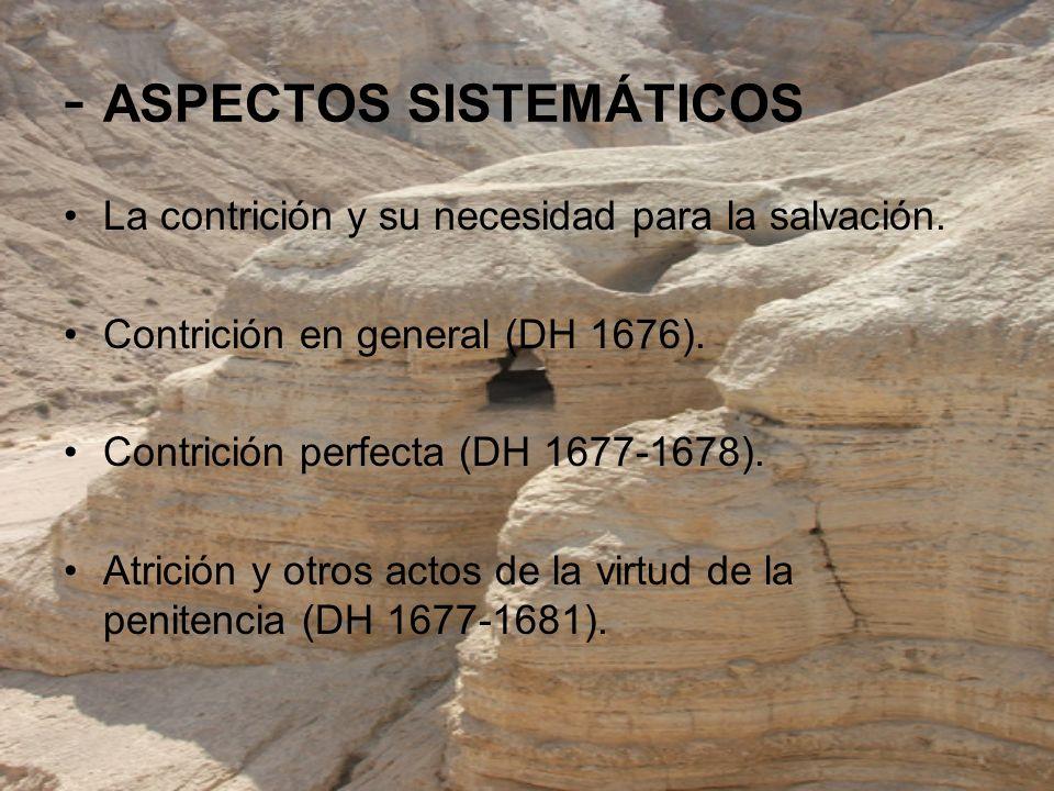 - ASPECTOS SISTEMÁTICOS