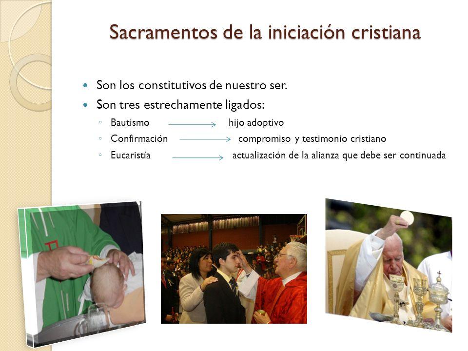 Sacramentos de la iniciación cristiana