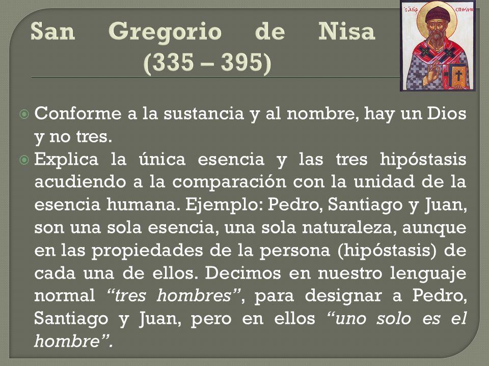 San Gregorio de Nisa (335 – 395)