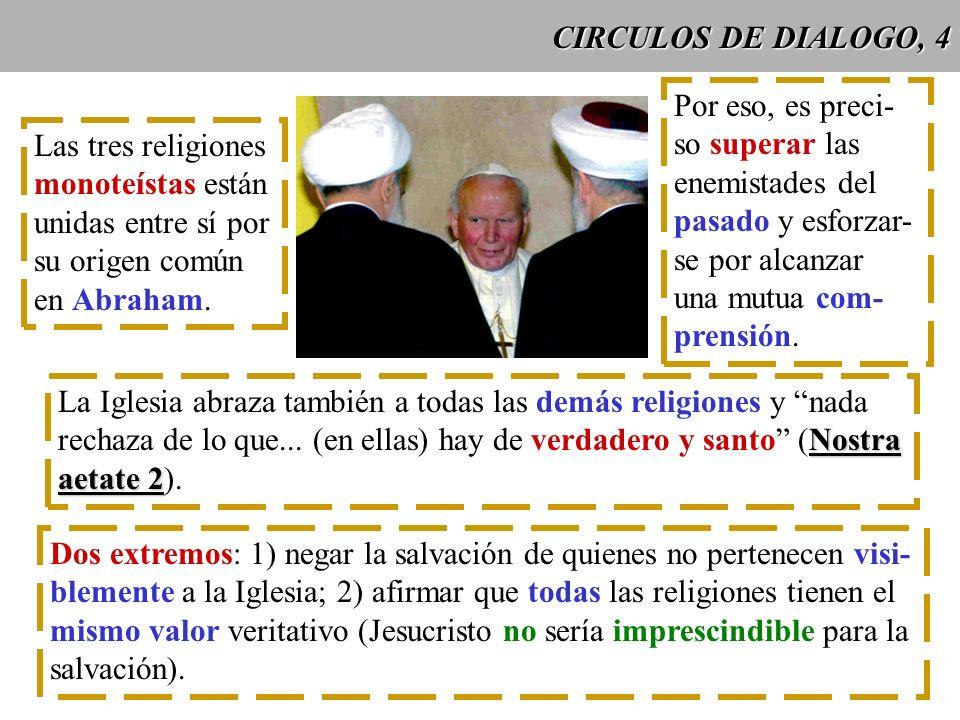 CIRCULOS DE DIALOGO, 4 Por eso, es preci- so superar las. enemistades del. pasado y esforzar- se por alcanzar.