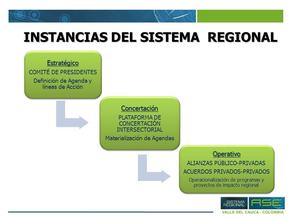 INSTANCIAS DEL SISTEMA REGIONAL