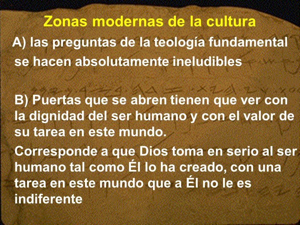 Zonas modernas de la cultura