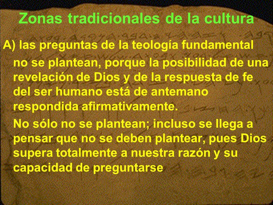 Zonas tradicionales de la cultura
