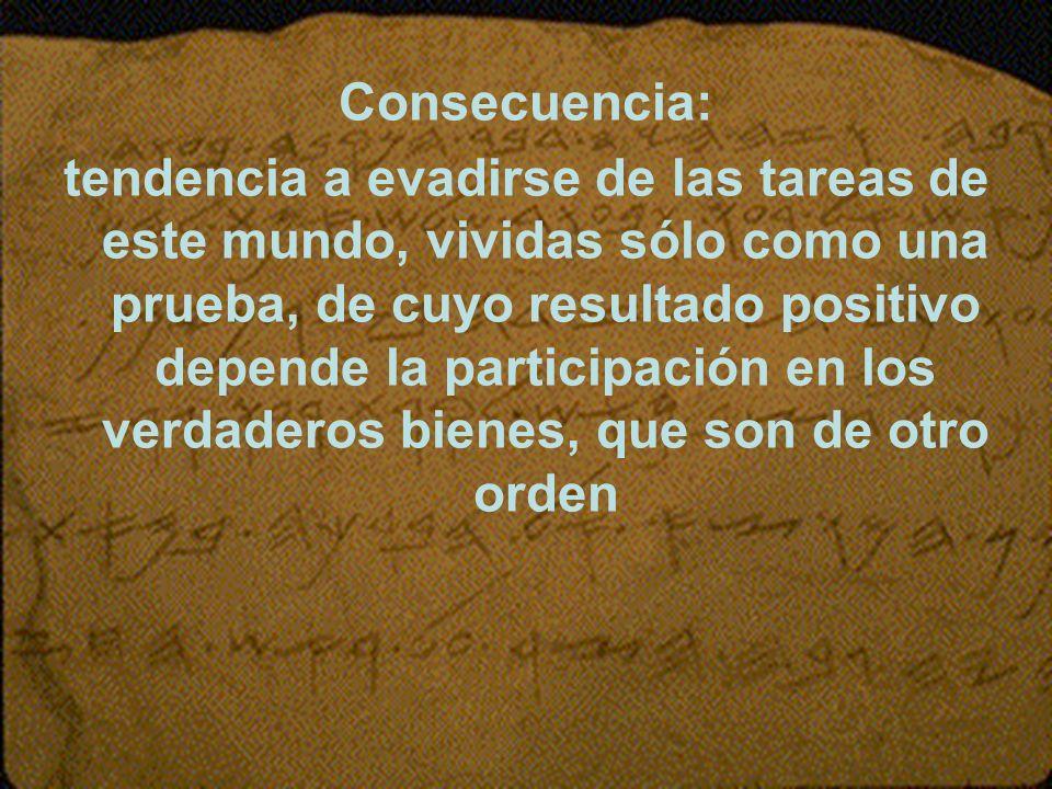 Consecuencia: