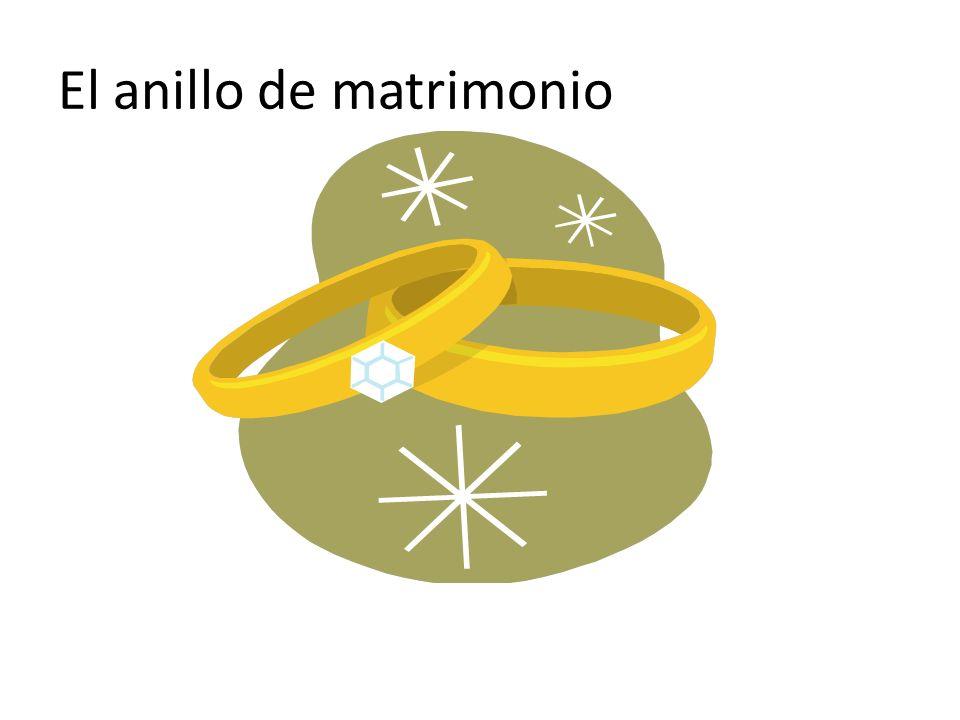 El anillo de matrimonio