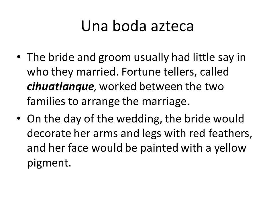 Una boda azteca