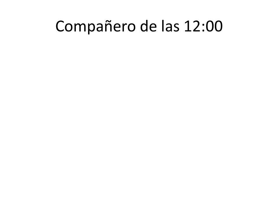 Compañero de las 12:00