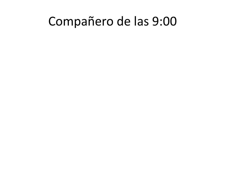 Compañero de las 9:00
