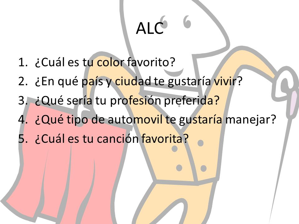 ALC ¿Cuál es tu color favorito