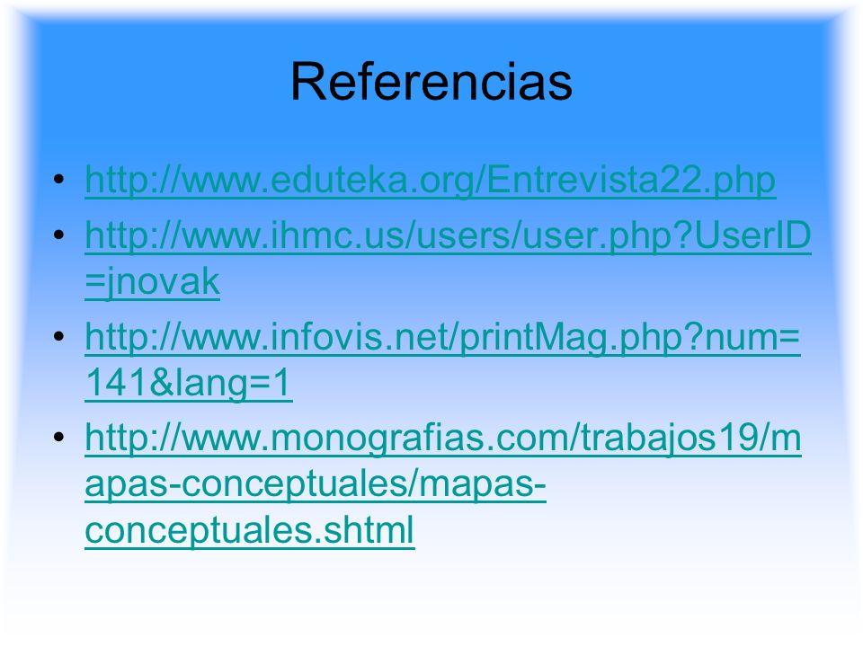 Referencias http://www.eduteka.org/Entrevista22.php