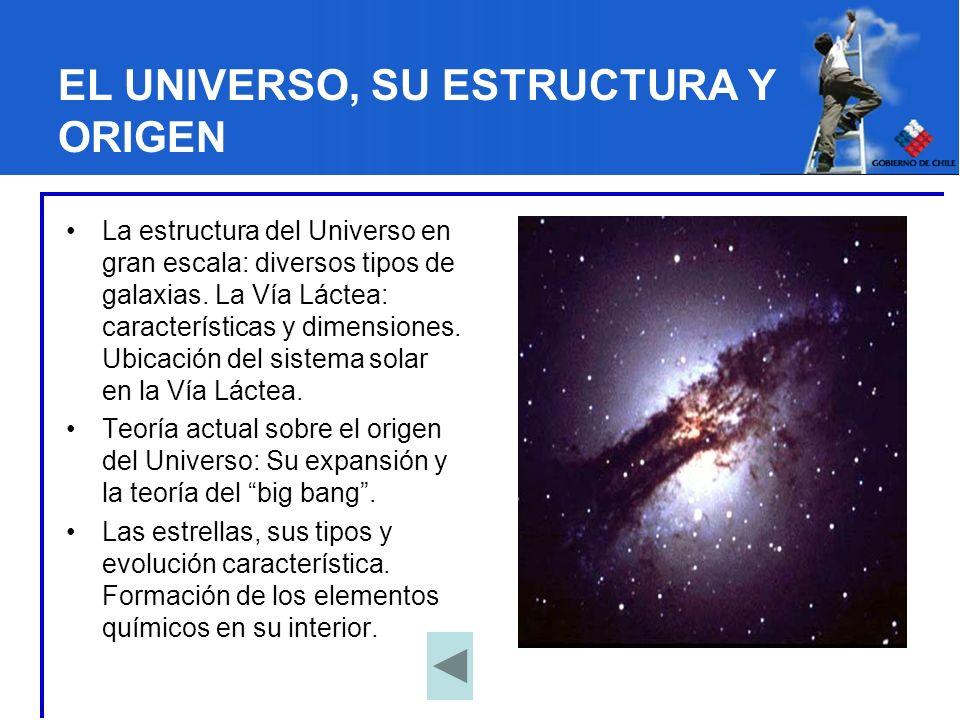 EL UNIVERSO, SU ESTRUCTURA Y ORIGEN